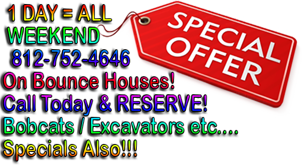 Louisville|Bobcat|Inflatable|Bounce House|Rental|Southern